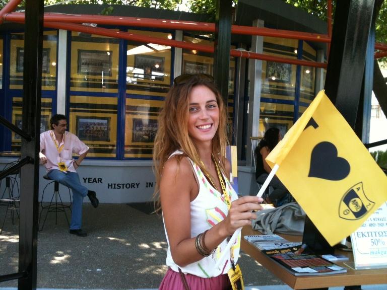 Κιτρινόμαυρη λάμψη στην ΔΕΘ! Η καρδιά του Άρη «χτυπάει» δυνατά (photos)