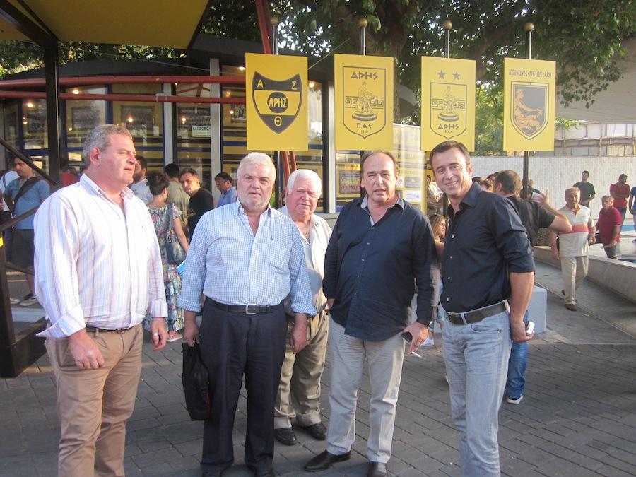 Ο Ηλιάδης παρουσίασε Μιλίνκοβιτς – Λόντσαρ και έστειλε μήνυμα στήριξης στους παίκτες!