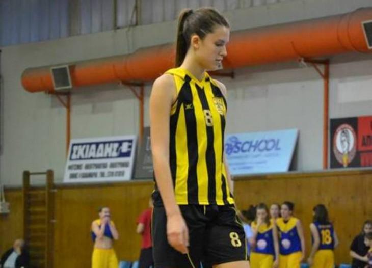 Η Μαρία Κατσαμούρη του Άρη στην Εθνική Νέων Γυναικών Ελλάδας!