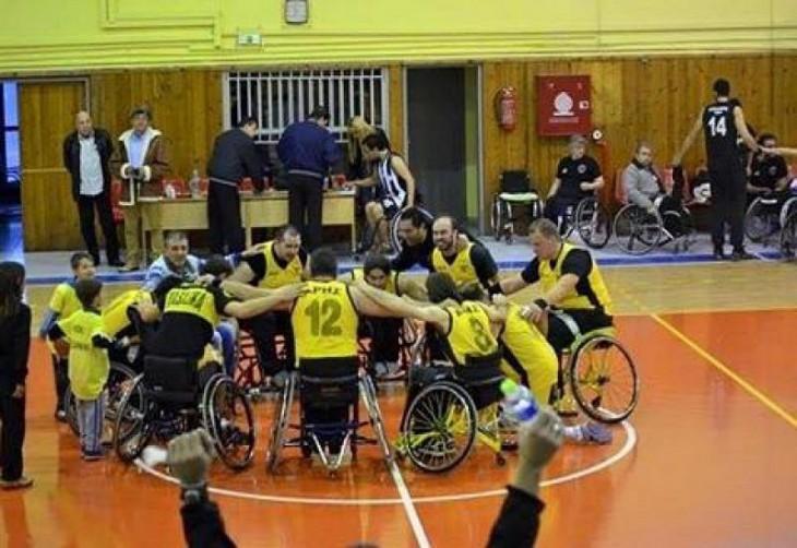Κόντρα στην Ίριδα η ομάδα μπάσκετ με αμαξίδιο