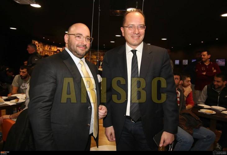 Eπικοινωνία Λάσκαρη – Χαλβατζάκη για τις εξελίξεις στο Τσάμπιονς Λιγκ της FIBA και όσα έγιναν στη Γενεύη!
