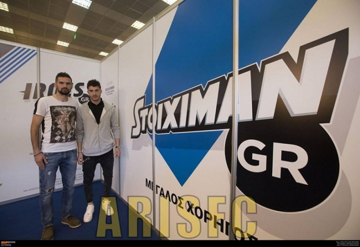Ο επίσημος Άρης για την παρουσία του ποδοσφαιρικού τμήματος στην Sportexpo (photos)