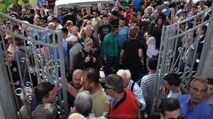 Χίος: Έντονες διαμαρτυρίες για την παύση του ρουκετοπόλεμου