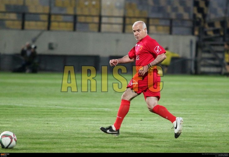 Ο Αναστόπουλος σε… φόρμα, θυμήθηκε τα παλιά (photo)
