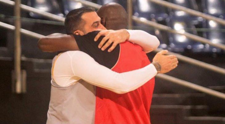 Πρίφτης και Σίμτσακ υποδέχθηκαν με αγκαλιές Σι και Ράιτ! (photo)