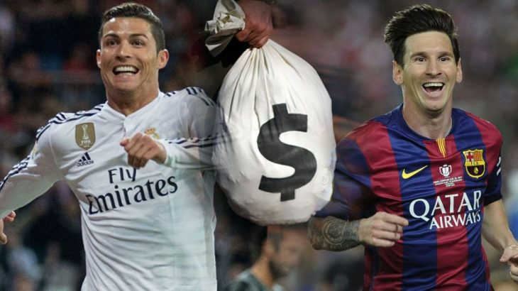 Ο Ρονάλντο είναι ο πιο ακριβοπληρωμένος ποδοσφαιριστής με 87,5 εκατ. ευρώ!
