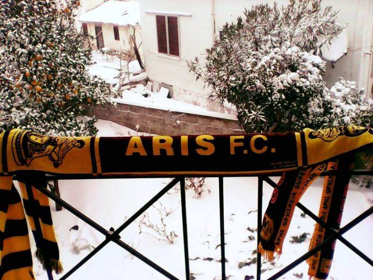 «Βρέξει, χιονίσει, ο Άρης θα νικήσει…» (photos)