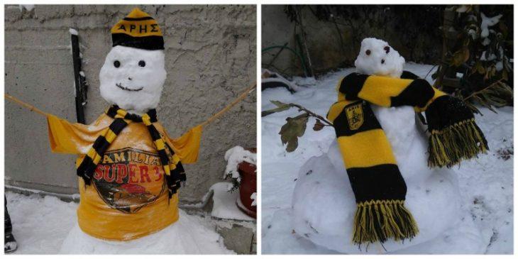 Άλλοι δυο κιτρινόμαυροι χιονάνθρωποι με… στιλ! (photos)