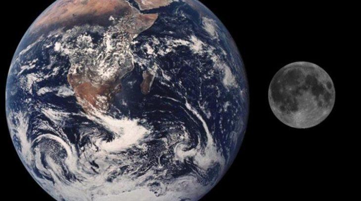 Δείτε πως φαίνονται η Γη και η Σελήνη από τον Άρη!