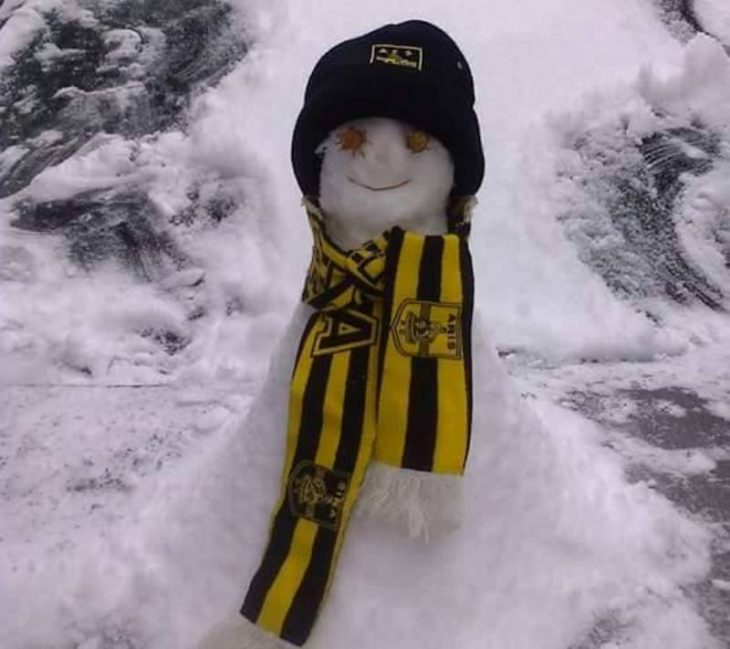 «Χιονίζει»… κιτρινόμαυρους χιονάνθρωπους στο PRESSARIS