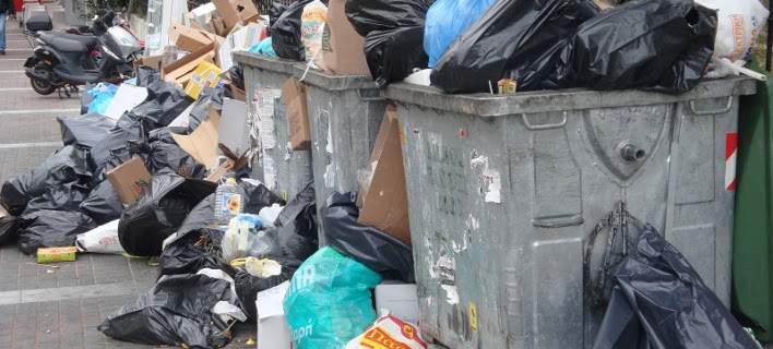 Θεσσαλονίκη: 600 τόνοι σκουπιδιών στο κέντρο της πόλης!