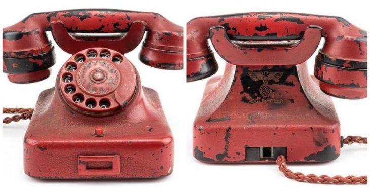 Πουλήθηκε για 243.000 δολάρια το κόκκινο τηλέφωνο του Χίτλερ (photo)