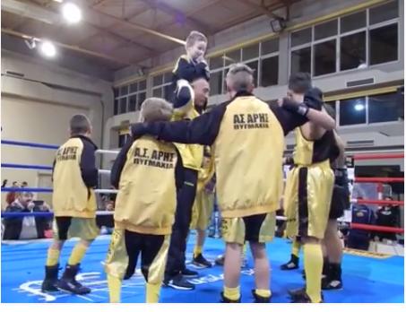 Κιτρινόμαυρη ψυχή! Το βίντεο της πυγμαχίας του Άρη που αξίζει να δείτε (video)