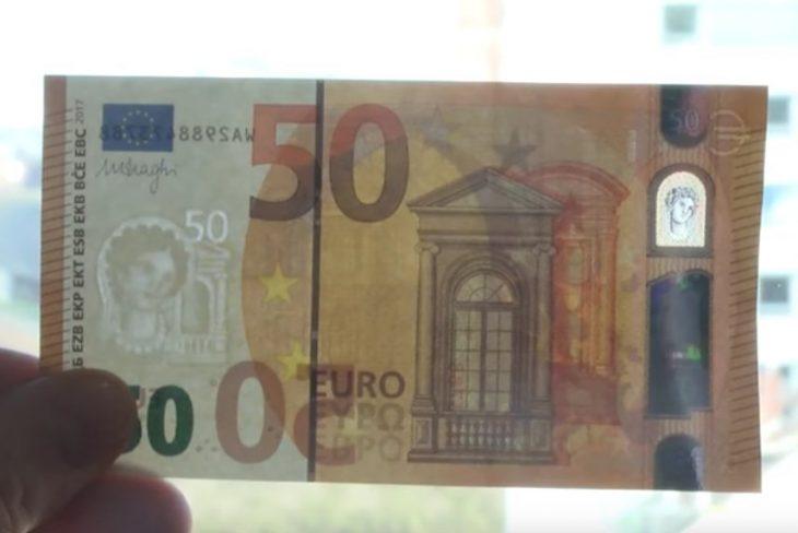 Αυτό είναι το νέο χαρτονόμισμα των 50 ευρώ (video)