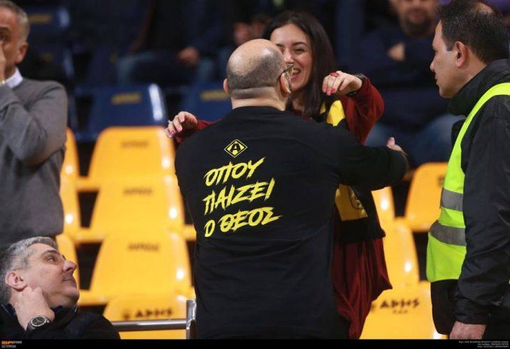 Το t-shirt δώρο από την Αθήνα και ο κιτρινόμαυρος… Πρατσινάκης (photos)