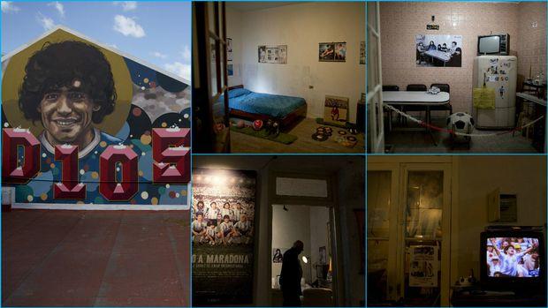 Μουσείο το σπίτι του Ντιέγκο Μαραντόνα (photos)