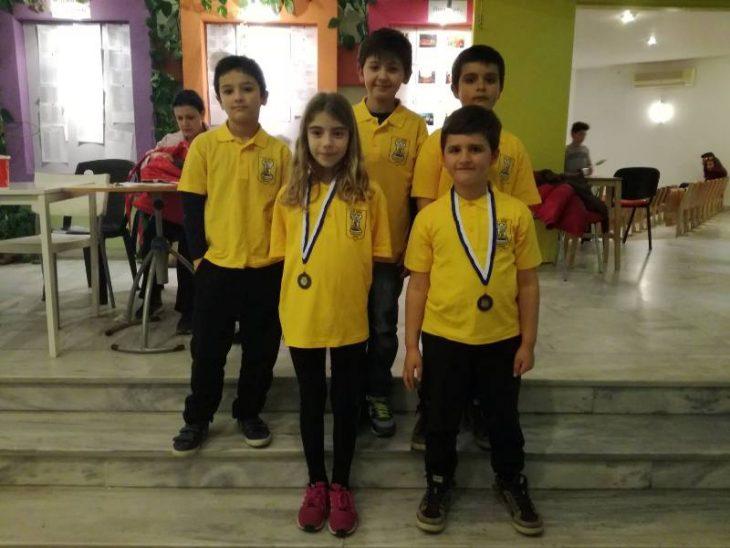 Τέσσερα μετάλλια και προκρίσεις για το σκάκι του Άρη
