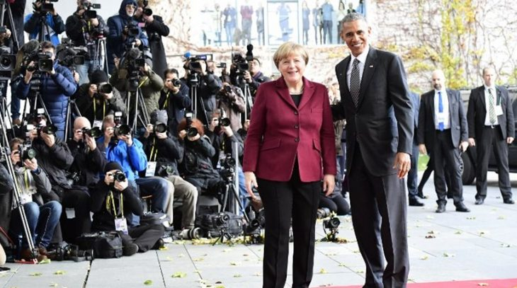 «Guest star» ο Ομπάμα στον τελικό Άιντραχτ-Ντόρτμουντ στο Βερολίνο!