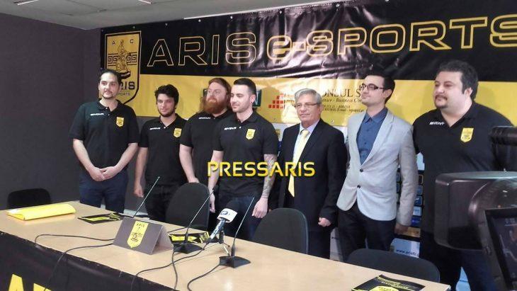 Και εγένετο Aris eSports από τον Άρη! (photos)