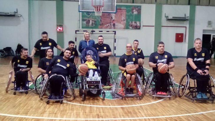 Τέταρτη σερί νίκη για την ομάδα μπάσκετ με αμαξίδιο (photos)