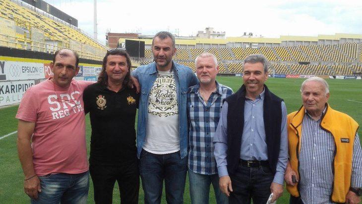 H επιστροφή του Δέλλα στο γήπεδο που «γεννήθηκε» (photos)