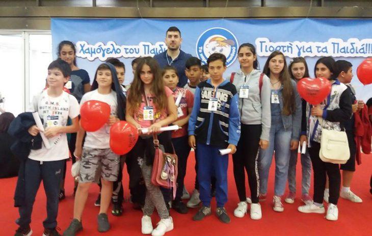 Παρών ο Ξανθόπουλος στη «Μεγάλη Γιορτή για τα Παιδιά» (photos)