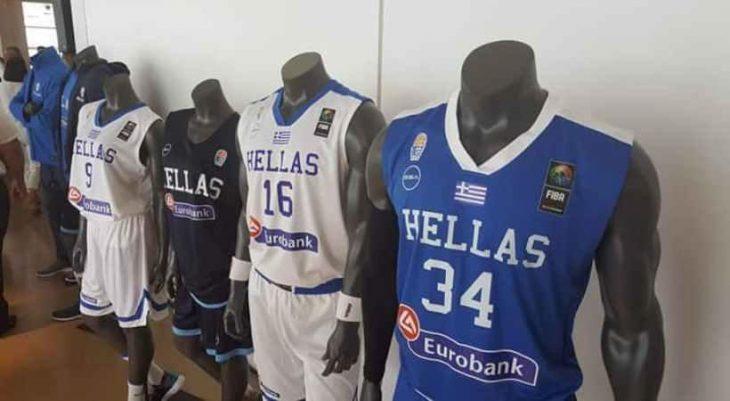Τα αποκαλυπτήρια της νέας φανέλας της Εθνικής μπάσκετ (video)