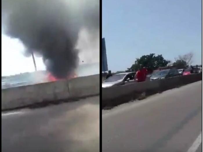 Χαλκιδική: Νεκρός σε τροχαίο- Πήρε φωτιά λόγω καύσωνα το αυτοκίνητο του! (photo-video)