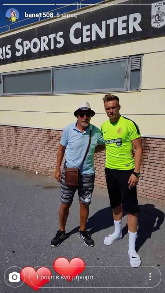 Η επιστροφή του Νίκολα Νίκιτς και η φωτογραφία με τον γιο! (photo)