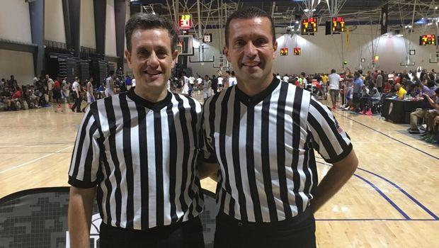 O Θεσσαλονικιός Γιάννης Φούφης και ο Σπύρος Γκόντας στο NCAA