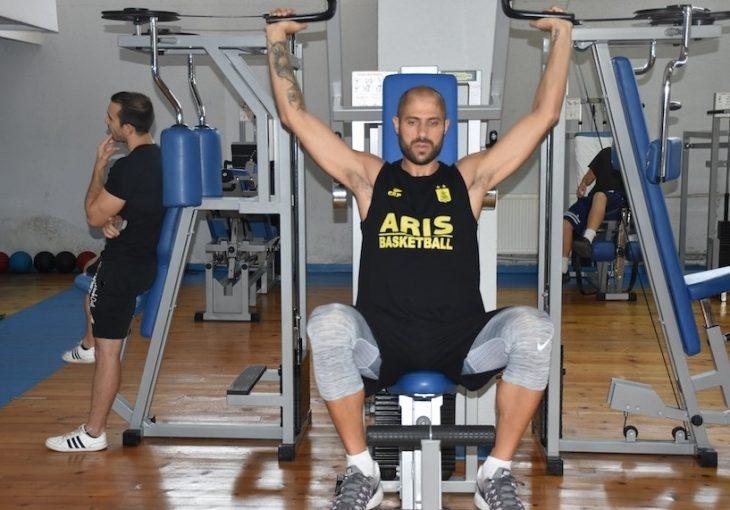 Ένιωσε βελτίωση ο Βασιλόπουλος, συνέχισε με ατομικό (photos)