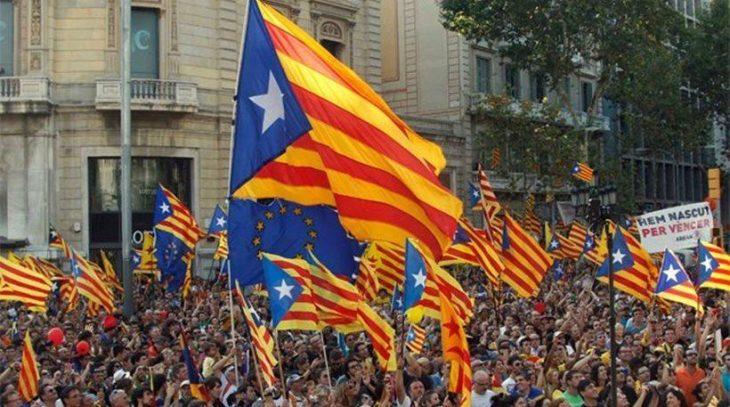 Μαδρίτη: Συλλαλητήριο υπέρ του δημοψηφίσματος για την ανεξαρτησία της Καταλονίας