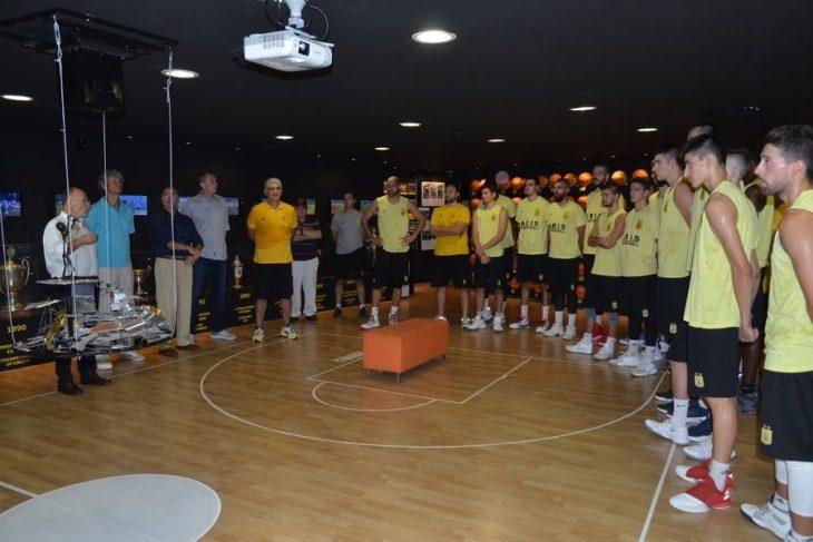 ΚΑΕ Άρης και Γιαννάκης τίμησαν τον Γκάλη λίγο πριν μπει στο Hall Of Fame (photos + video)