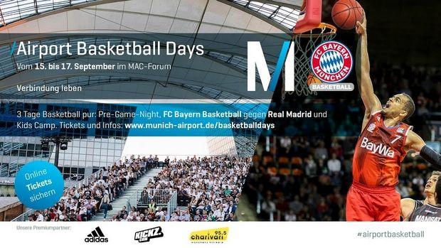 Μπάγερν – Ρεάλ σε γήπεδο μπάσκετ στο αεροδρόμιο του Μονάχου (photos + video)