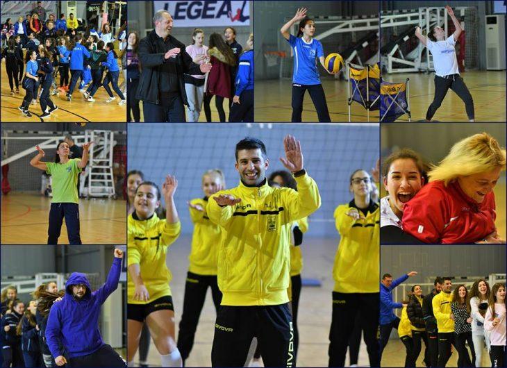 Όμορφες κιτρινόμαυρες στιγμές από το 3o Star Volley (photos)