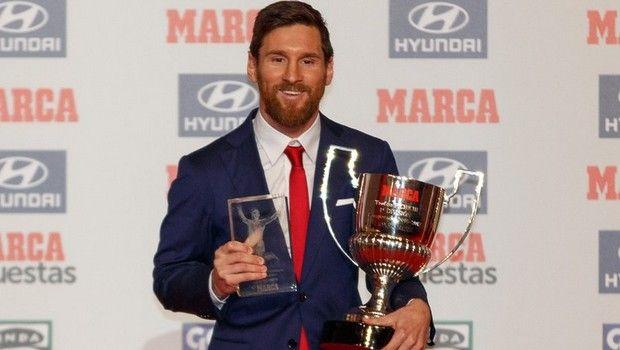 Ο Μέσι σάρωσε τα βραβεία της «Marca»
